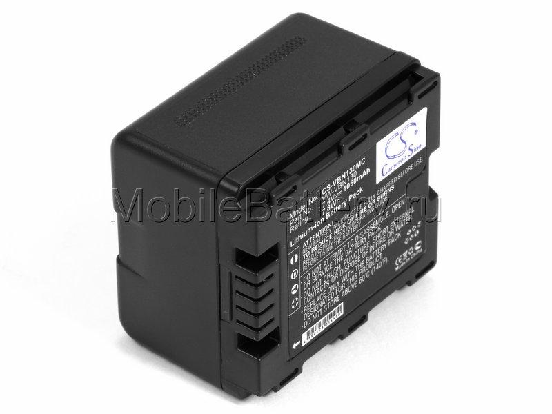 Аккумулятор Panasonic VW-VBN130, VW-VBN130E, VW-VBN130E-K