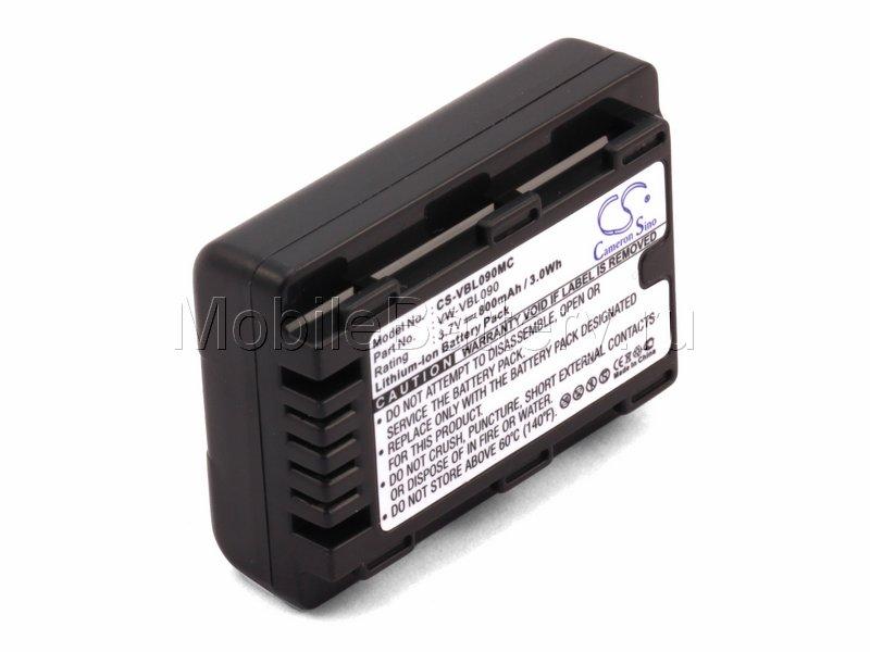 Аккумулятор для Panasonic VW-VBL090, VW-VBK180, VW-VBK180E-K
