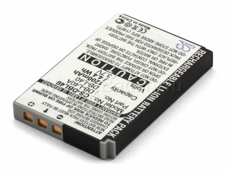 Аккумулятор для фотоаппарата Sanyo DB-L40