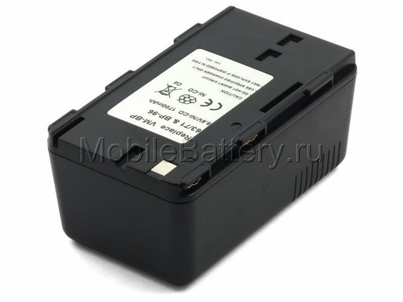 Аккумулятор для видеокамеры Hitachi BP-96, VM-BP63