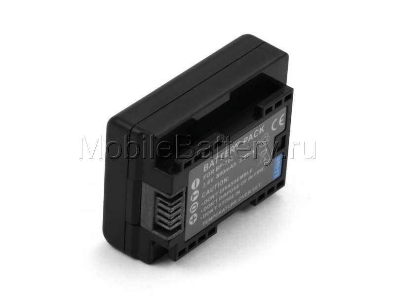 Аккумулятор для видеокамеры Canon BP-709, BP-718, BP-727