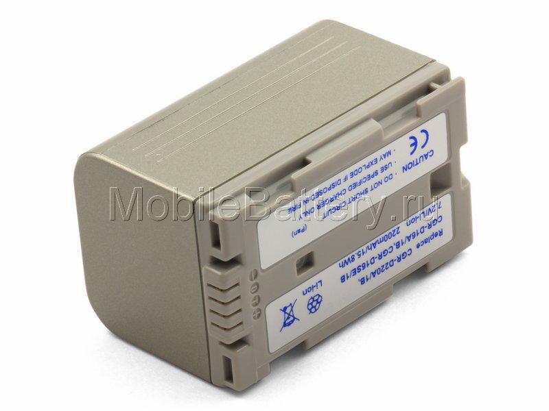 Усиленный аккумулятор для Panasonic CGR-D16, CGR-D16S, CGR-D220