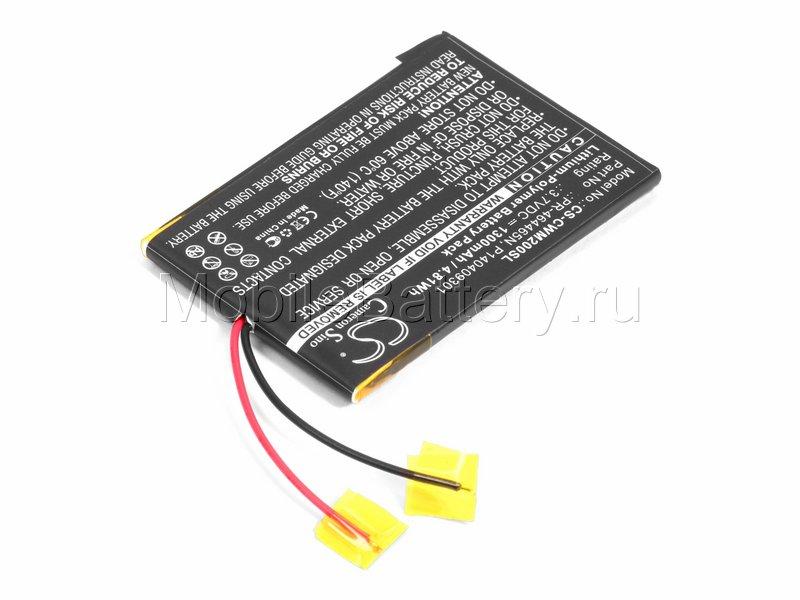 Аккумулятор для mp3 плеера Cowon M2 (PR-464465N)
