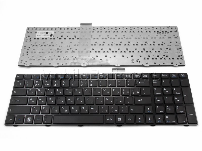 Клавиатура для ноутбука MSI V111922AK1, V111922AK3, V111922BK1