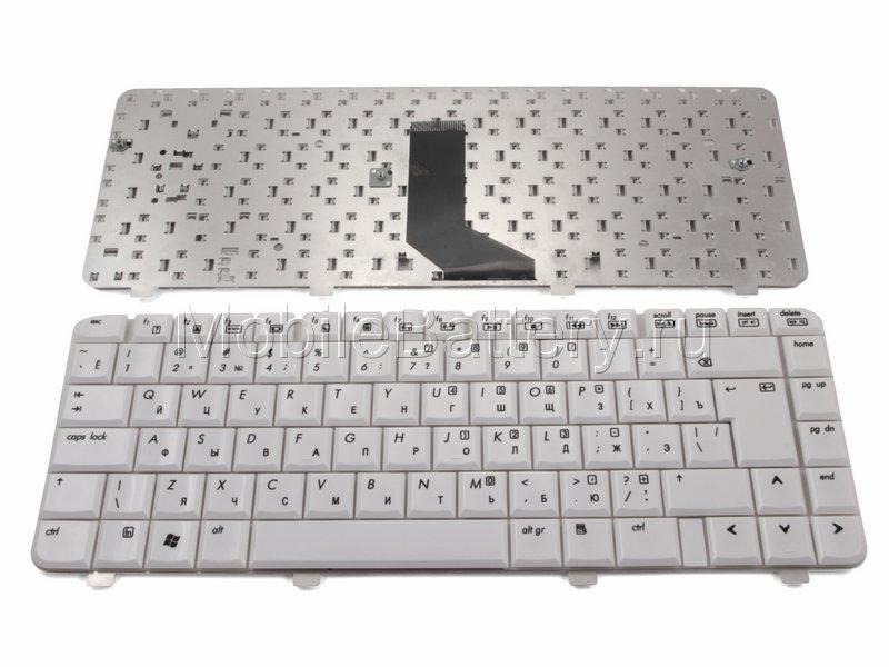 Клавиатура для ноутбука HP MP-05583SU, NSK-H550R (белая)
