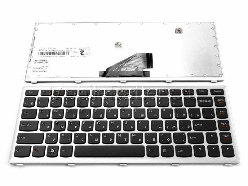 Клавиатура для ноутбука Lenovo IdeaPad U310 (25-204960, MP-3A)